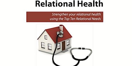 Relational Health Workshop tickets