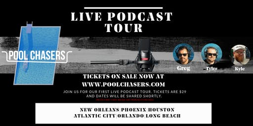 Pool Chasers Live Tour in Atlantic City