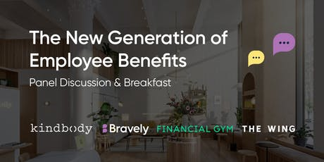 The New Generation of Employee Benefits tickets