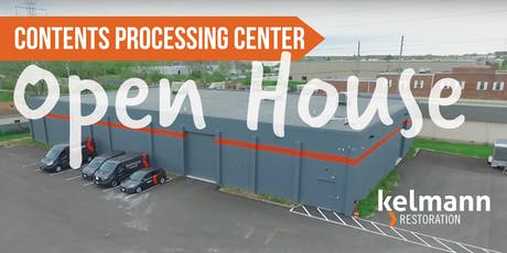 Contents Processing Center Open House tickets
