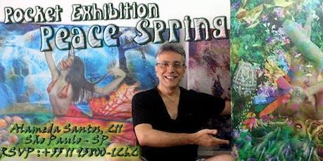 Peace Spring - Pocket Exhibition Com As Pinturas de Henrique Vieira Filho ingressos