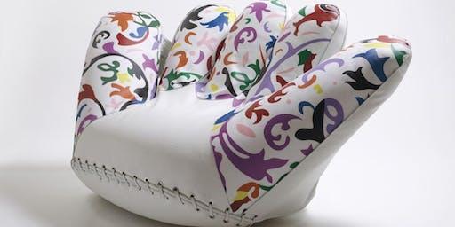 Il design contemporaneo: dalla poltrona alla borsa. Hussain Harba