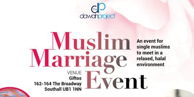 Muslim Marriage Event in Southall