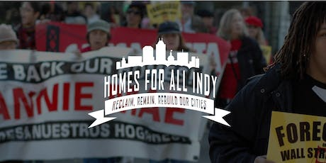 Homes For All Indy CLT Coaltion Meeting tickets