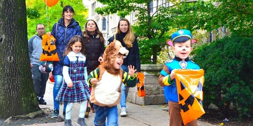 Family Funday and Trick or Treating with The Shops at Yale