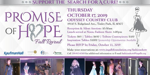Promise of Hope Fall Reveal Fashion Show