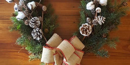 Second Annual Wreath Making Workshop