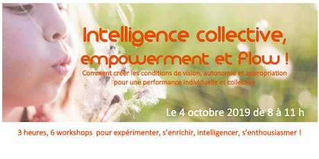 Intelligence collective, empowerment et performance billets