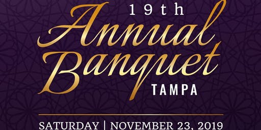 19th Annual Banquet: Tampa