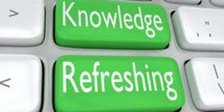Retail Product Knowledge Refresher Training tickets