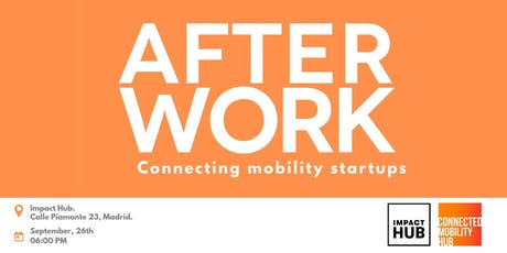 After work: Connecting Mobility Startups entradas