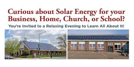 Solar Energy Workshop tickets