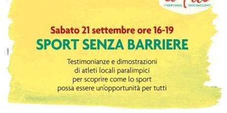 Sport senza barriere tickets