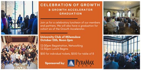 Celebration of Growth - Annual Luncheon tickets