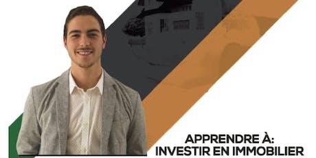 Apprendre à investir en immobilier billets