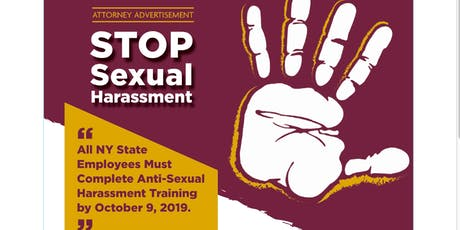 Live Online New York Anti Sexual Harassment Training for Owners and Managers New York State and New York City tickets