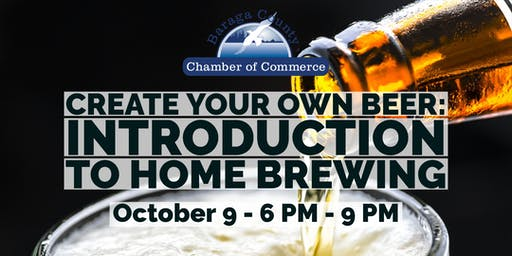 Create your Own Beer: Introduction to Home Brewing