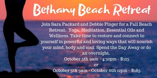 Beach Retreat - Both days, no overnight