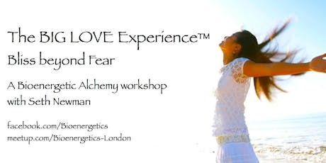 The Big LOVE Experience™ - Bliss Beyond Fear with Seth Newman tickets
