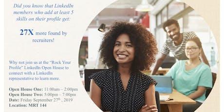 Rock Your Profile- LinkedIn Open House session billets