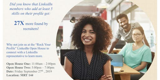 Rock Your Profile- LinkedIn Open House session