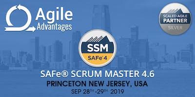 SAFe Scrum Master (4.6) Training - Princeton, NJ, USA
