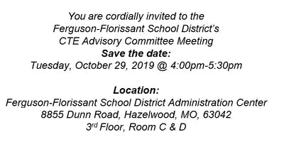 Ferguson-Florissant CTE Advisory Board Meeting