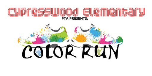 Cypresswood Elementary Family Fun Color Run