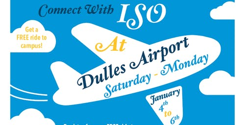 ISO Airport Pickup Registration - Spring 2020