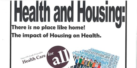 Health and Housing with CSJ Health Care for All Task Group tickets