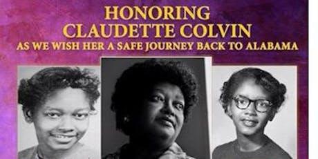 Farewell Celebration Honoring Claudette Colvin  tickets