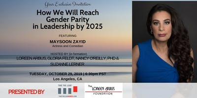 Purpose, Power, Parity: How We Will Reach Gender Parity in Leadership by 2025