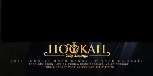 HOOKAH CITY LOUNGE THURSDAY VIP