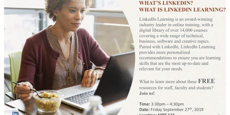 What's LinkedIn? What is LinkedIn Learning? Its FREE? tickets