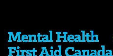 Mental Health First Aid - October 2019 tickets