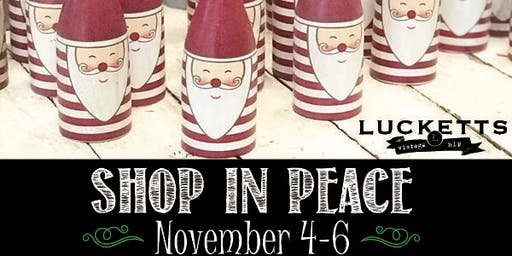 Holiday Open House November 4th-6th $20