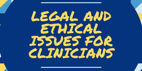 Legal and Ethical Issues for Mental Health Providers in Michigan tickets