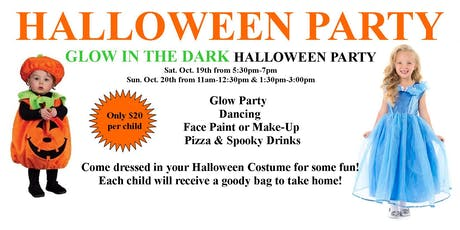 Halloween GLOW Party tickets