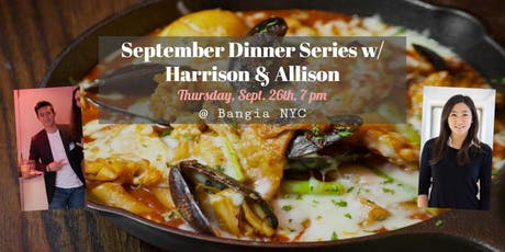 September Dinner Series with Harrison and Allison tickets