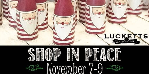 Holiday Open House November  7th-9th $15