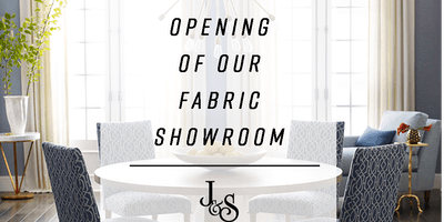 J&S Fabric Showroom Grand Opening - Special Guest Speaker Scott Kravet