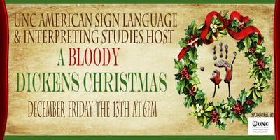 """""""A Bloody Dickens Christmas"""" 3rd Annual of Murder Mystery Dinner"""