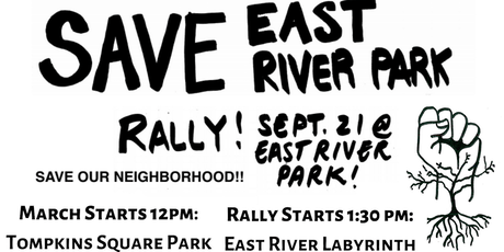 Save East River Park tickets