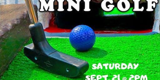 Reflect Mini Golf Outing