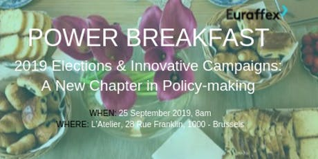 Euraffex Power Breakfast tickets