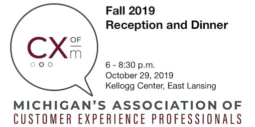 CX of M Fall 2019 Reception and Dinner