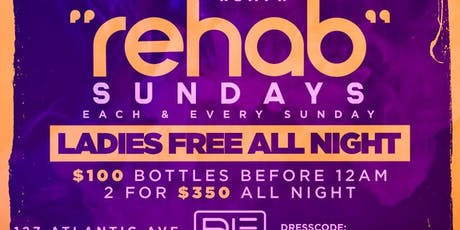 Rehab Sunday's tickets