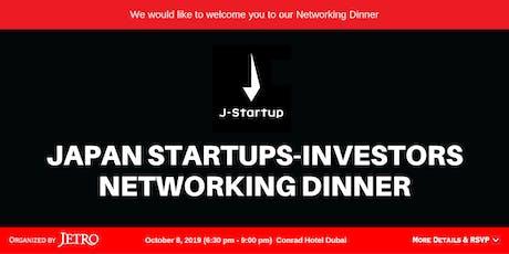 Japan Startups-Investors Networking Dinner tickets
