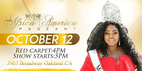 MISS AFRICA AMERICA CORONATION tickets
