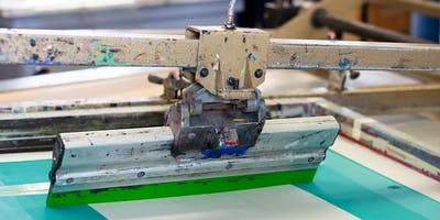 Course: Intermediate Screen-printing, 9 June – 14 July, Tuesday, 7pm – 10pm